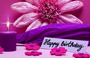 Женщине, Happy Birthday