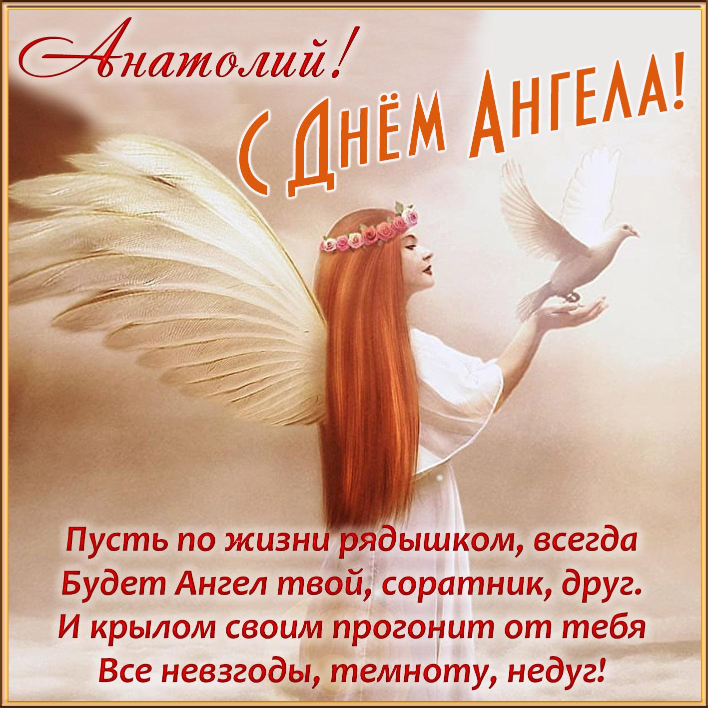 День ангела анатолий открытки, открыток