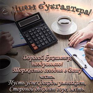 Пожелание в стихах на День бухгалтера