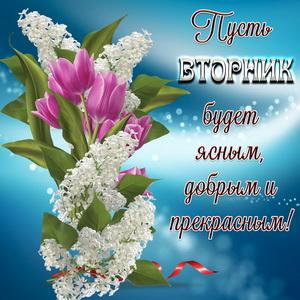 Красивое пожелание доброго вторника