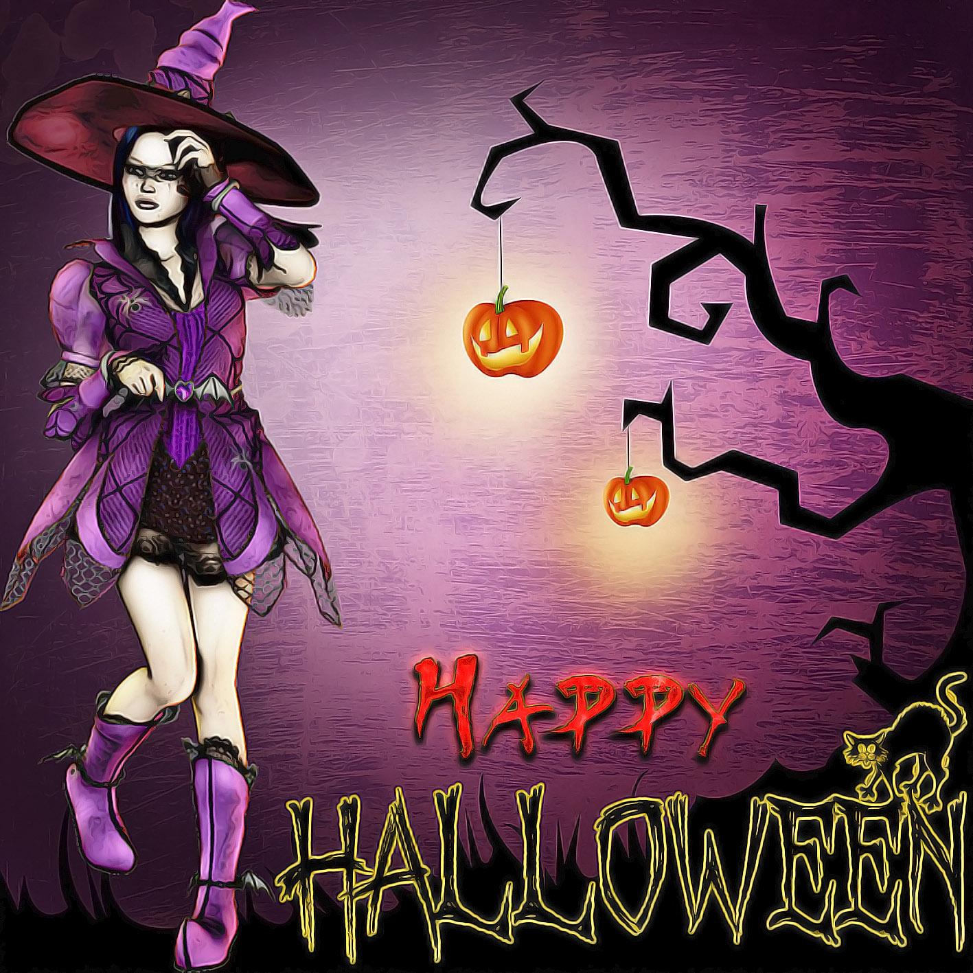 Утро марина, открытки к хэллоуину на английском