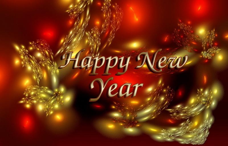С новым годом, расплывчатые елочные шары