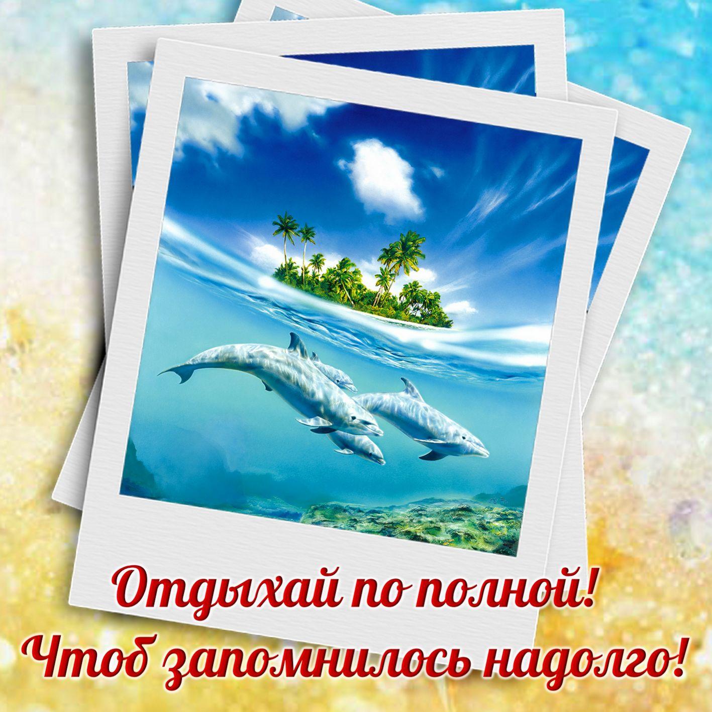 Отправка открыток из отпуска, открытках